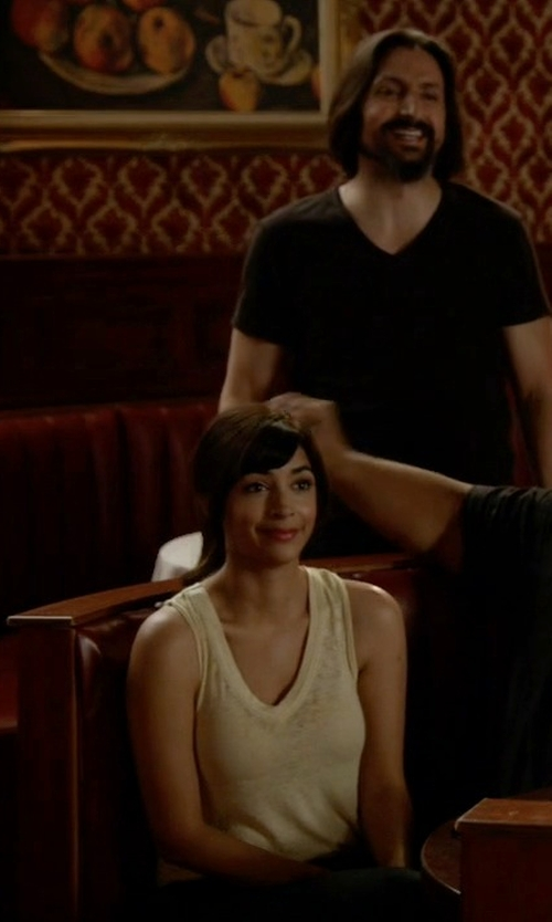 Hannah Simone with Free People Breezy Tank Top in New Girl