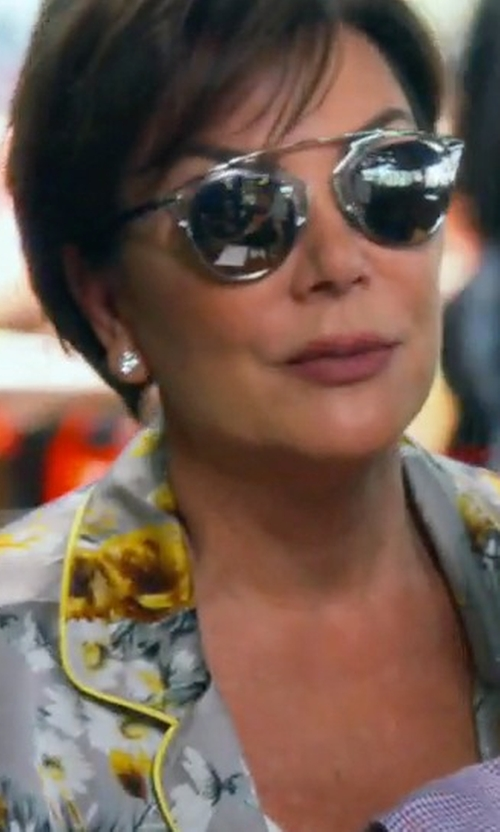 Kris Jenner with Dior 'So Real' Sunglasses in Keeping Up With The Kardashians
