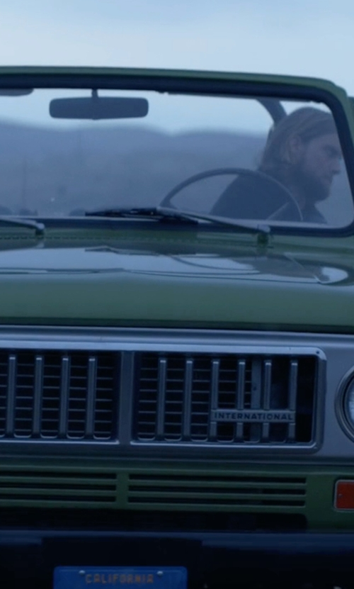 Jake Weary with International 1972 Scout II SUV in Animal Kingdom