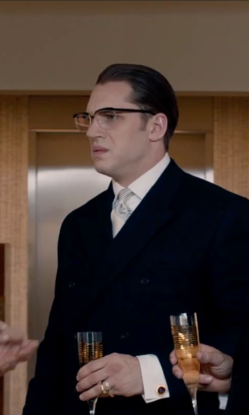 Tom Hardy with Paul Smith Double-Breasted Tuxedo Jacket in Legend