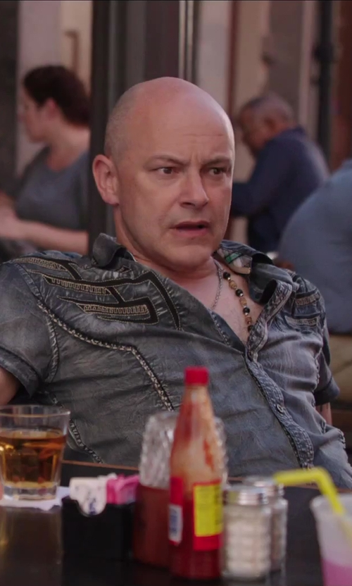 Rob Corddry with Fashion Destination Trendy Fashion Long Bead Necklace Set in Hot Tub Time Machine 2