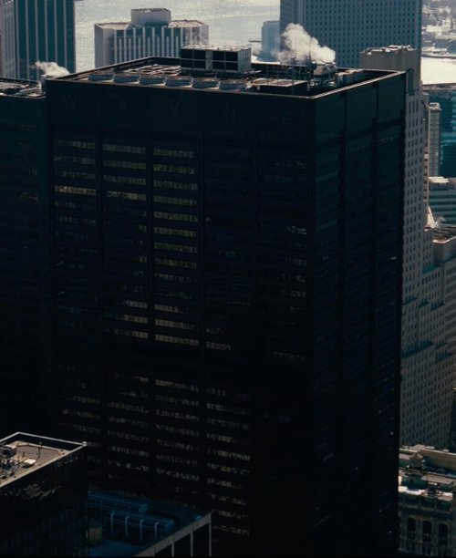 Unknown Actor with One Liberty Plaza (Depicted as Wayne Enterprises) New York City, NY in The Dark Knight Rises