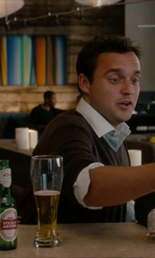 Unknown Actor with Stella Artois Beer in No Strings Attached