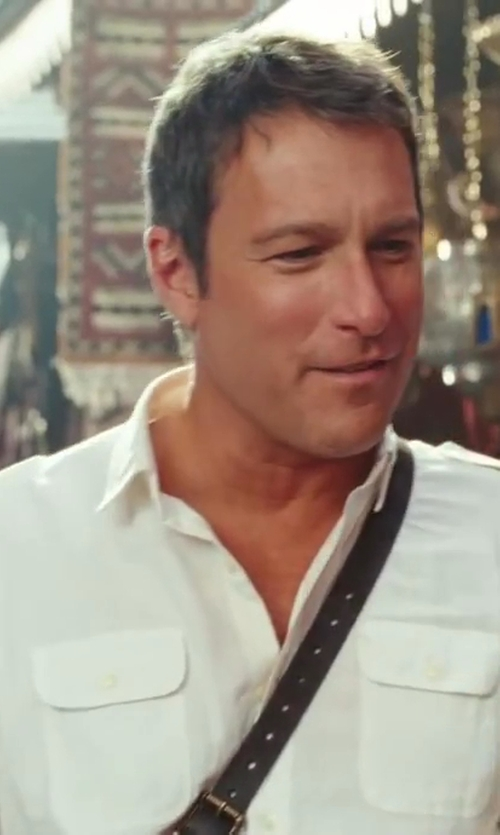 John Corbett with Ralph Lauren Rover Military Shirt in Sex and the City 2