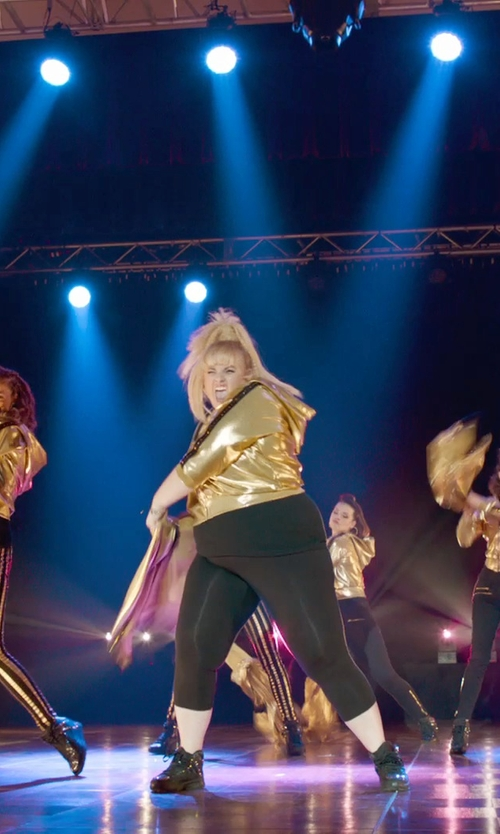 Rebel Wilson with Bikkembergs High-Top Sneakers in Pitch Perfect 2