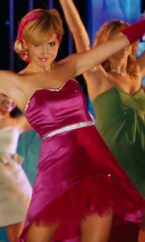 Ashley Tisdale with Caroline B. Marx (Costume Designer) Custom Made Sweetheart Neckline Prom Dress  in High School Musical 3: Senior Year