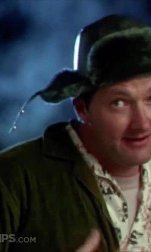 Randy Quaid with Steven Alan Jens Melton Wool Shirt in Christmas Vacation