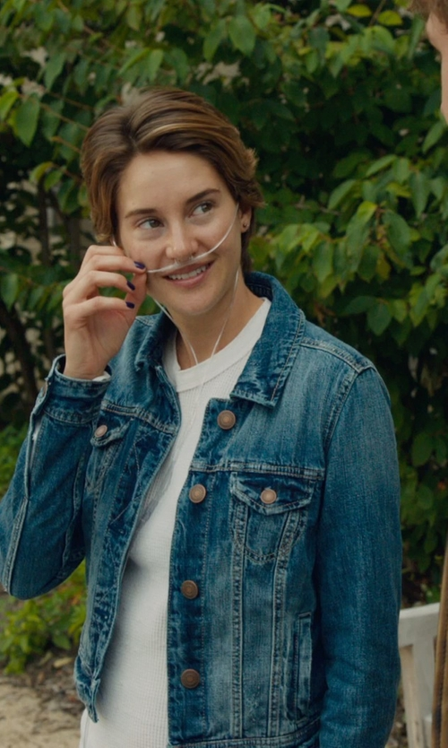 Shailene Woodley with SIENNA SIWY DENIM in The Fault In Our Stars