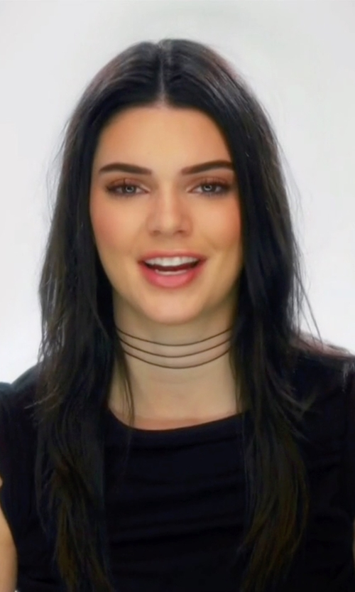 Kendall Jenner with Simone Rocha Ruffled Sleeve Top in Keeping Up With The Kardashians