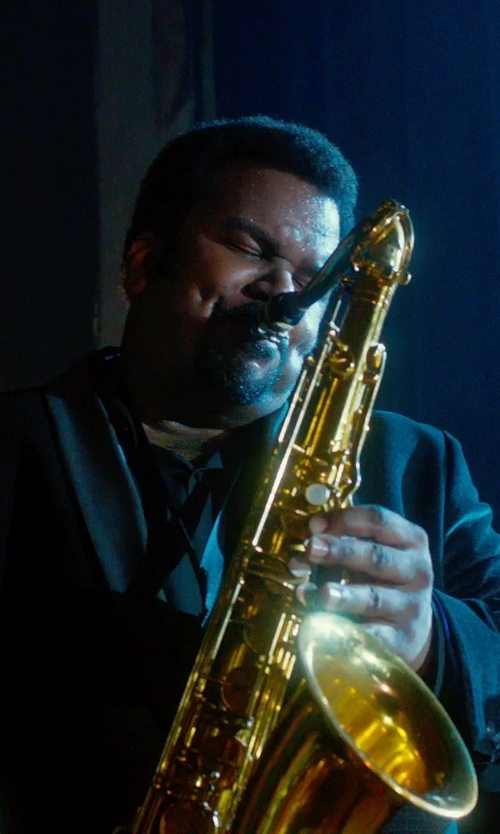Craig Robinson with Dolce & Gabbana Stretch Cotton Woven Dress Shirt in Get On Up