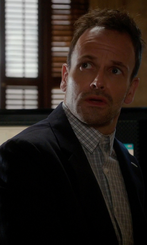 Jonny Lee Miller with Jim Black Suit Separate Jacket in Elementary