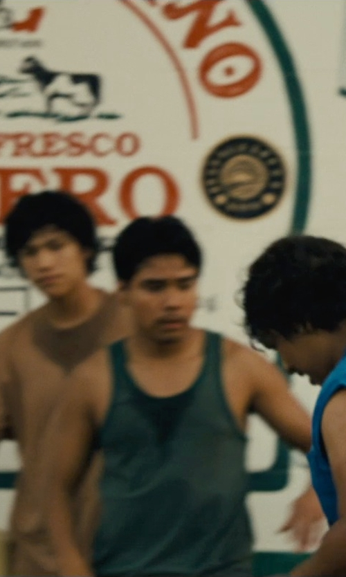 Rafael Martinez with Zokey Mens Athletic Tank Top in McFarland, USA