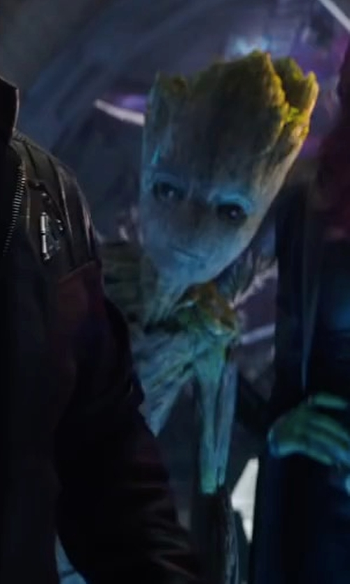 """Vin Diesel with Guardians of the Galaxy Guardians of the Galaxy 9"""" Baby Groot Plush in Avengers: Infinity War"""