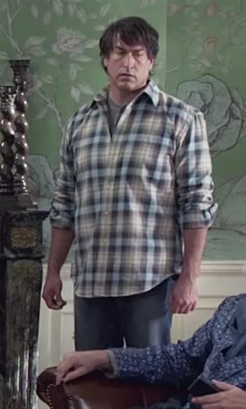 Rob Riggle with Calvin Klein Jeans Modern Boot Nova Denim in Medium Wash in Dumb and Dumber To