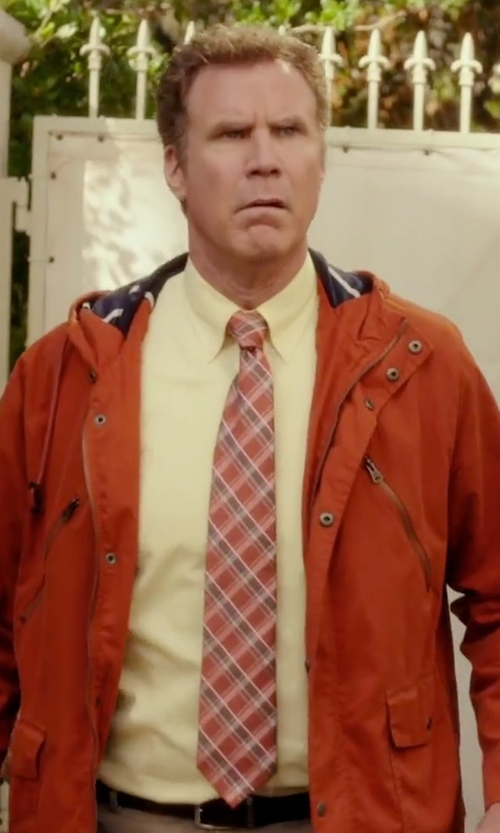 Will Ferrell with Izod Solid Twill Dress Shirt in Daddy's Home