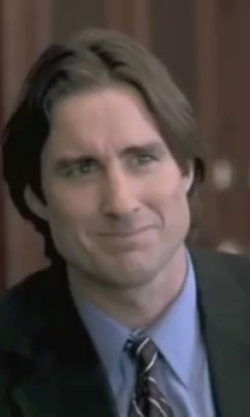 Luke Wilson with Brunello Cucinelli Two-Tone Striped Tie in Legally Blonde
