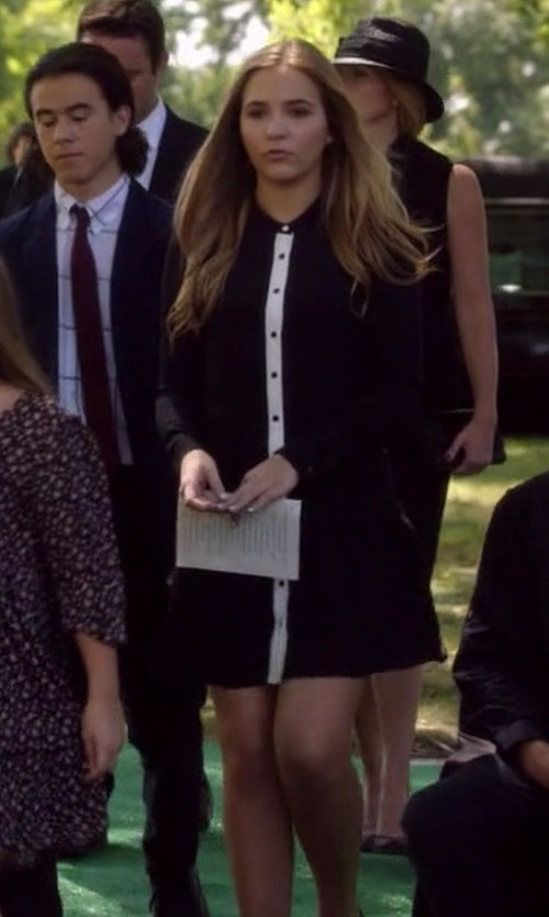Lennon Stella with The Kooples Portfolio Dress in Nashville