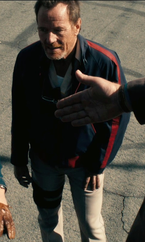 Bryan Cranston with Incotex Casual Pants in Drive