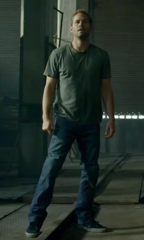 "Paul Walker with Vans Syndicate Wade Speyer Pack Sk8-Hi 91 CF ""S"" Shoes in Brick Mansions"