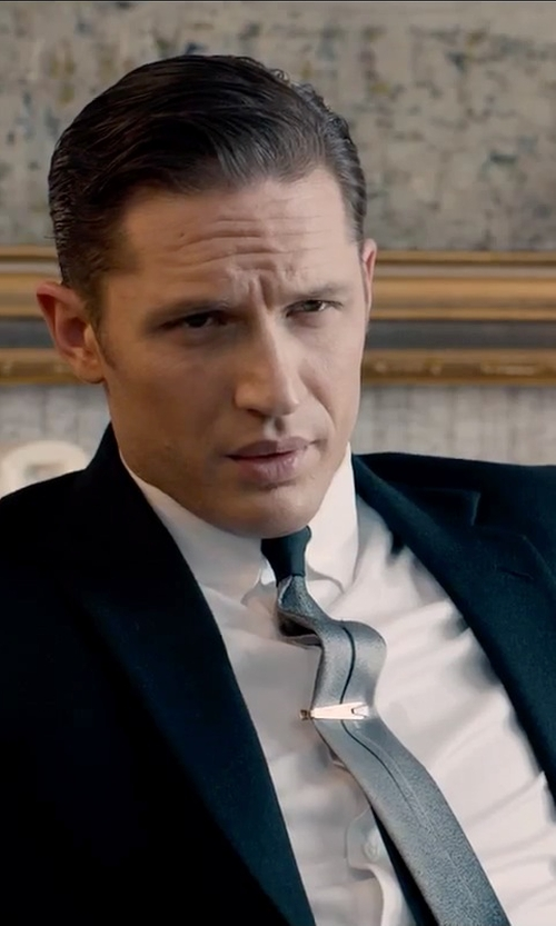 Tom Hardy with Dolce & Gabbana Silk-Twill Tie in Legend