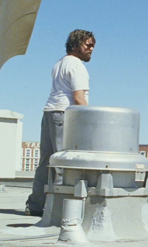 Zach Galifianakis with C.P. Company Button Closing Casual Pants in The Hangover