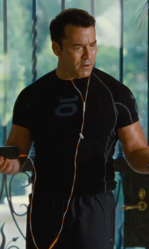 Jeremy Piven with Under Armour Launch Reflective Running Shorts in Entourage