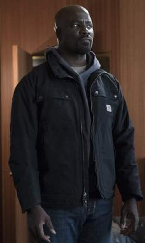 Mike Colter with Carhartt  Big & Tall Flint Jacket in Marvel's Luke Cage