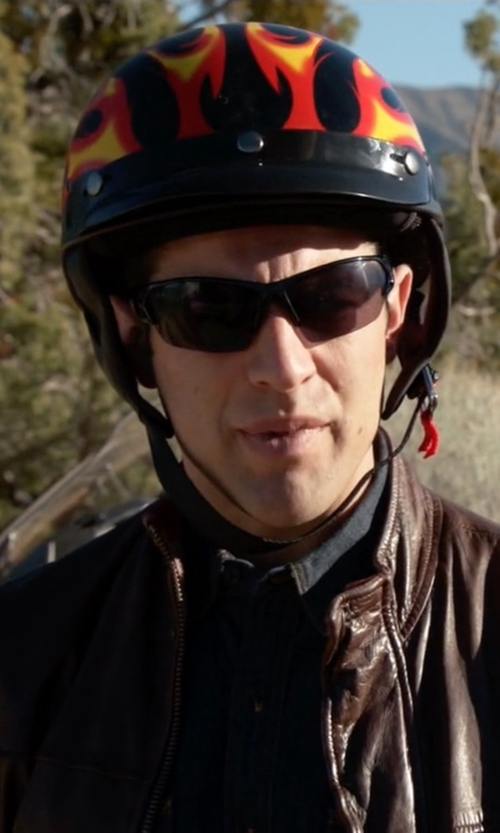 Max Greenfield with Under Armour Rival Freedom Shield Sunglasses in New Girl