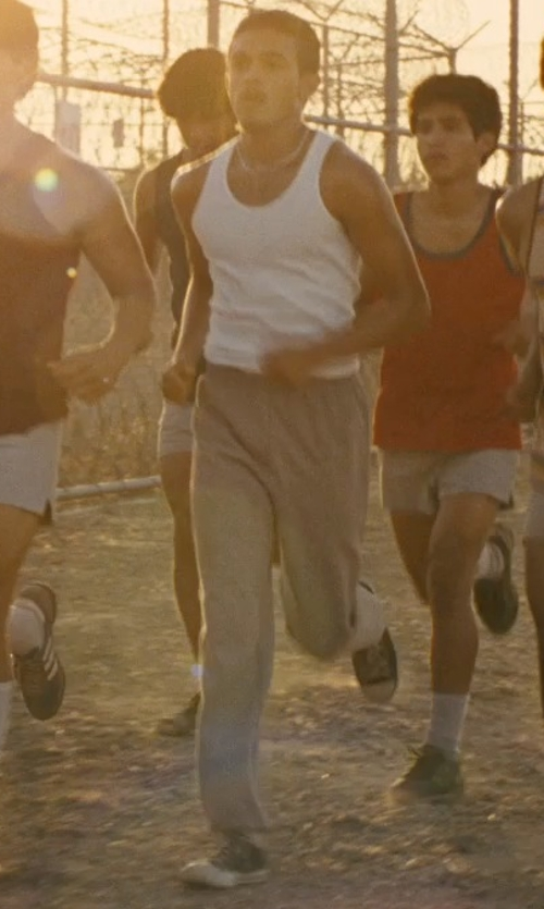 Sergio Avelar with Converse Low Top Canvas Sneakers in McFarland, USA