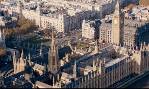 Unknown Actor with Palace of Westminster London, United Kingdom in Fast & Furious 6