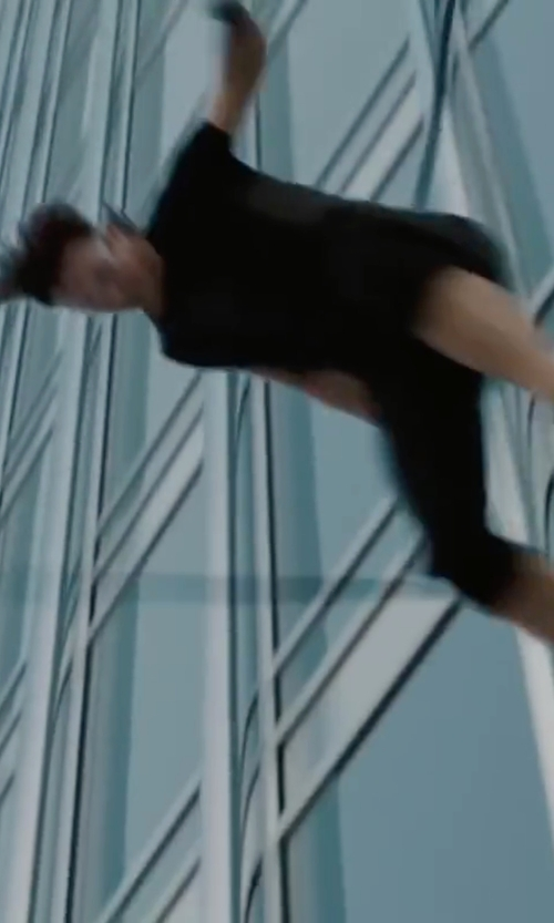 Tom Cruise with Dolce & Gabbana Cotton Jersey T-Shirt in Mission: Impossible - Ghost Protocol