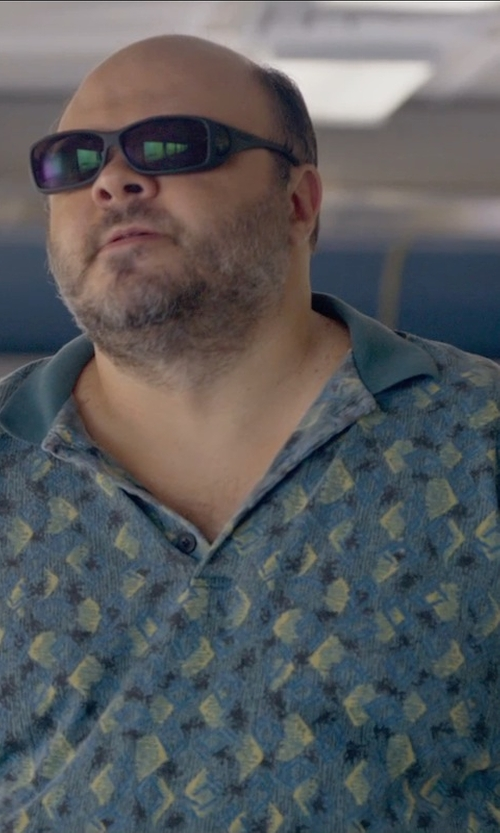 Craig Ricci Shaynak with Ted Baker London 'Flowbo' Slim Fit Floral Print Polo Shirt in Ted 2
