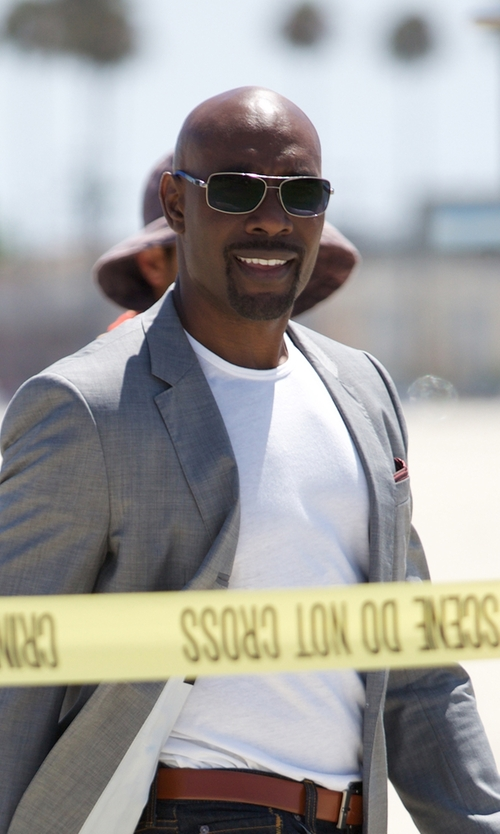 Morris Chestnut with Mulberry Reversible Full-grain Leather Belt in Rosewood