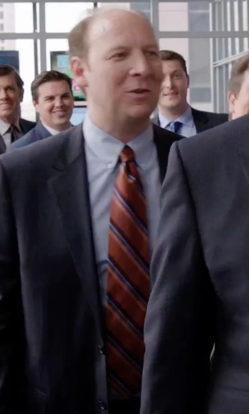 Dan Bakkedahl with Saks Fifth Avenue Collection Micro Houndstooth Print Dress Shirt in Get Hard