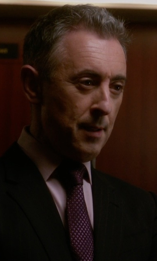 Alan Cumming with Boss Gulio Us Regular Fit Dress Shirt in The Good Wife