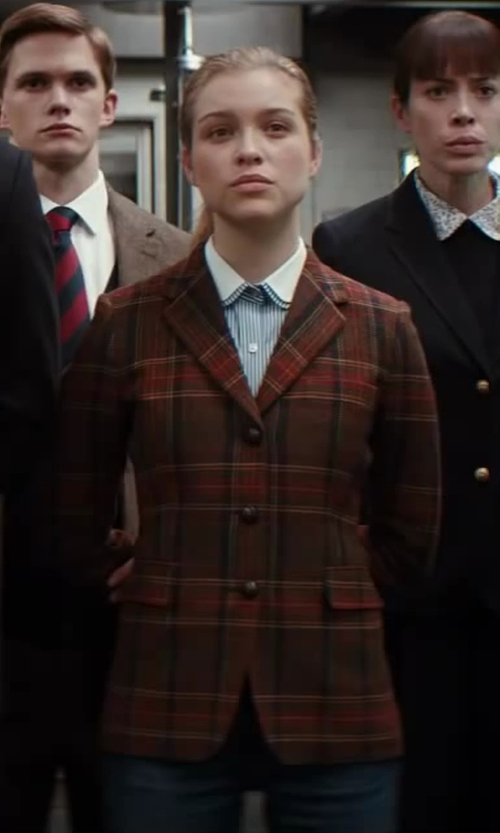Sophie Cookson with San Lorenzo Womens Check Blazer in Kingsman: The Secret Service