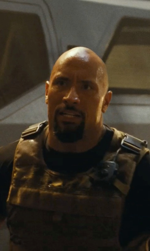 Dwayne Johnson with Under Armour Men's Tactical HeatGear Compression Short Sleeve T-Shirt in Fast Five