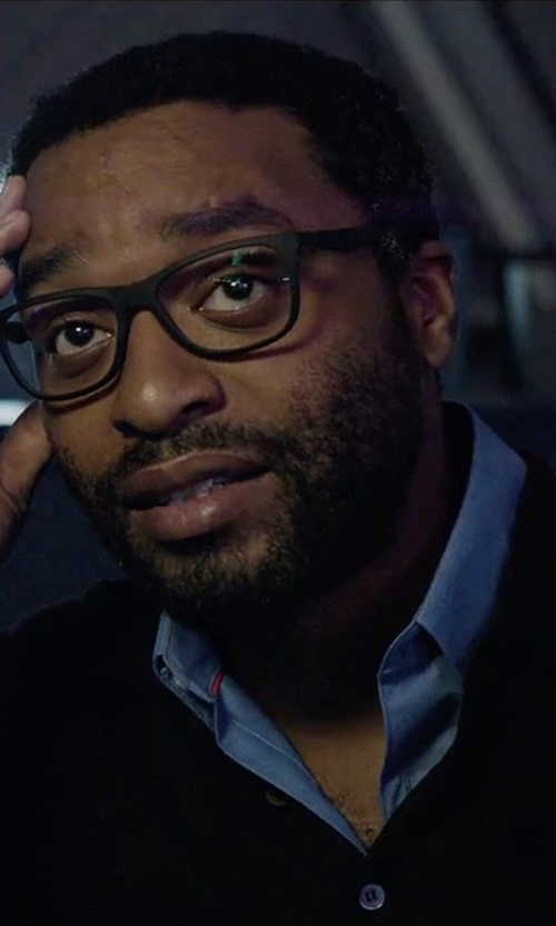 Chiwetel Ejiofor with David Donahue Regular Fit Oxford Dress Shirt in The Martian