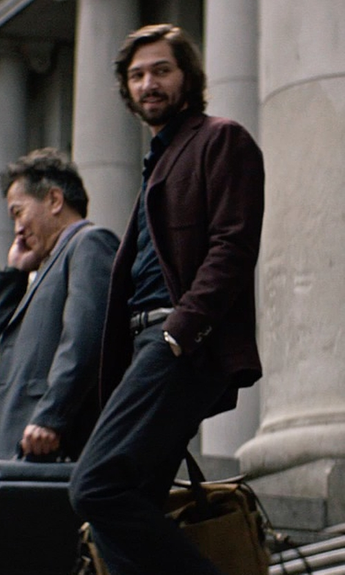 Michiel Huisman with Ralph Lauren Morgan Corduroy Sport Coat in The Age of Adaline