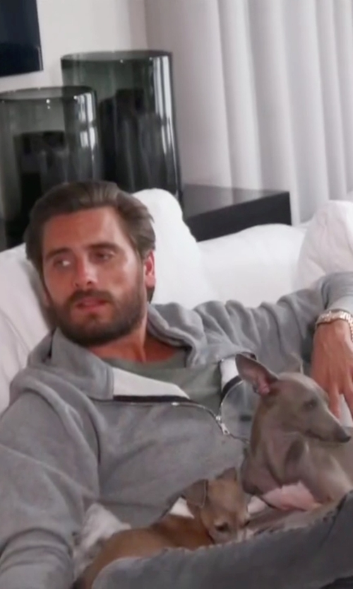 Scott Disick with John Elliot Flash Dual Full Zip Jacket in Keeping Up With The Kardashians