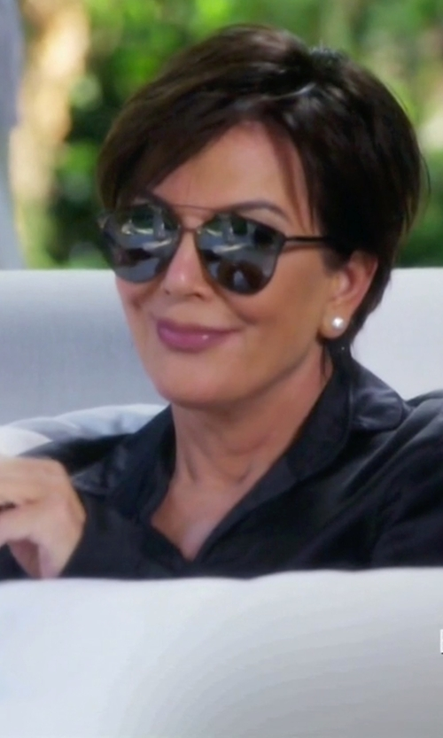 Kris Jenner with Christian Dior Reflected/S Sunglasses in Keeping Up With The Kardashians