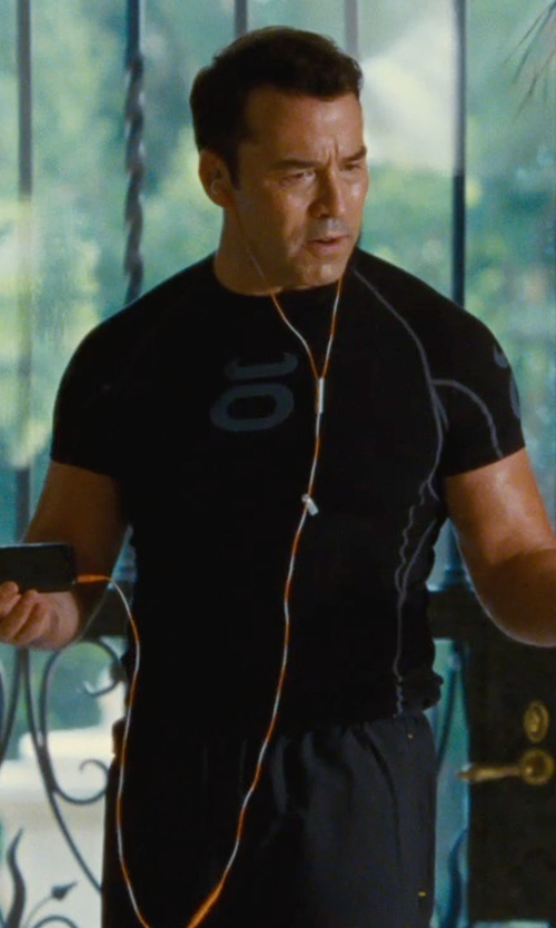 Jeremy Piven with Sony EX Series Earbuds Earphone in Entourage