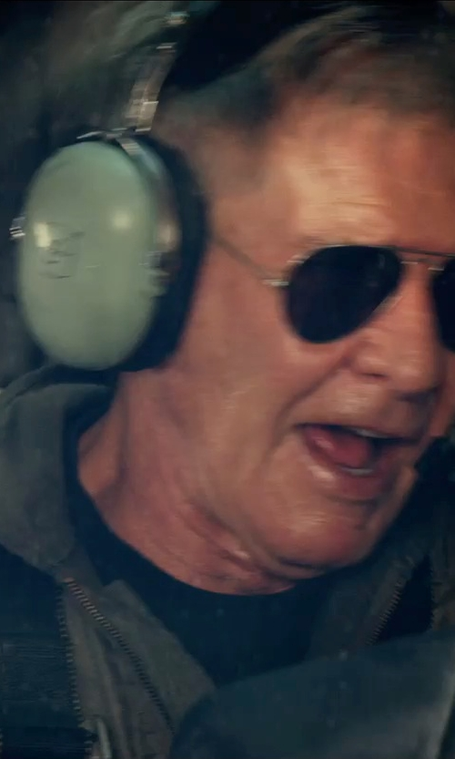 Harrison Ford with David Clark H10-13H Headset in The Expendables 3