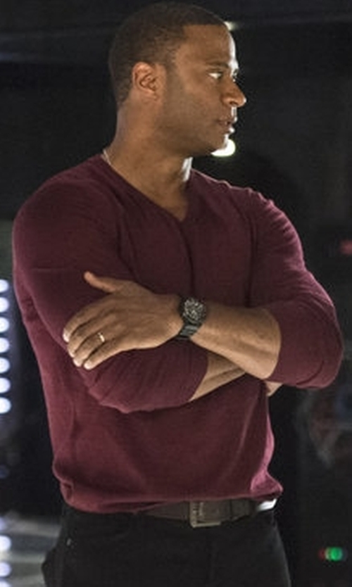 David Ramsey with Will Leather Goods Skiver Belt in Arrow