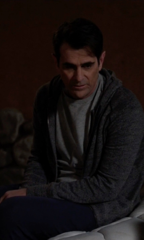 Ty Burrell with All Saints Brace Hoody in Modern Family