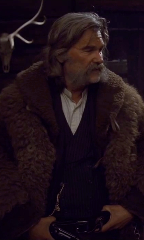 Kurt Russell with John Lobb Calf Belt in The Hateful Eight