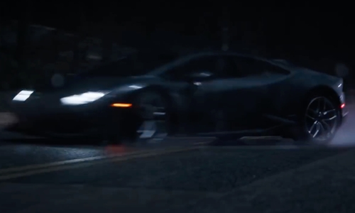 Benedict Cumberbatch with Lamborghini Huracán LP 610-4 Avio Supercar in Doctor Strange
