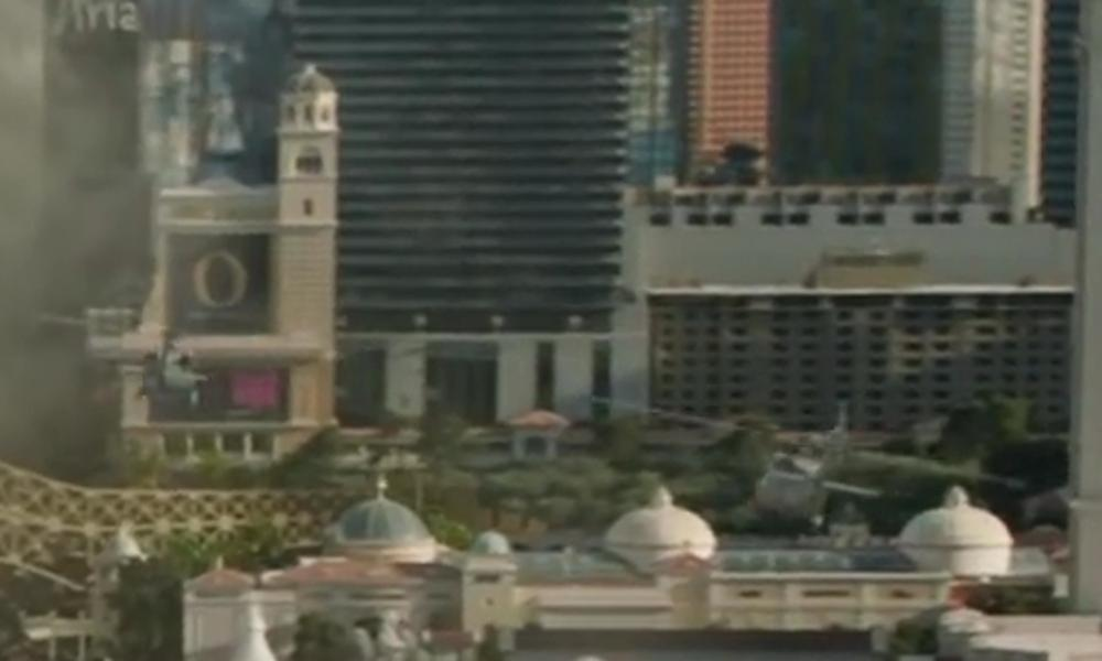 Bellagio Las Vegas, Nevada in Godzilla