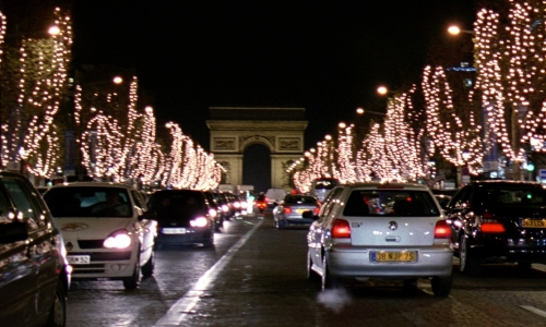 No Actor with Arc de Triomphe Paris, France in The Devil Wears Prada