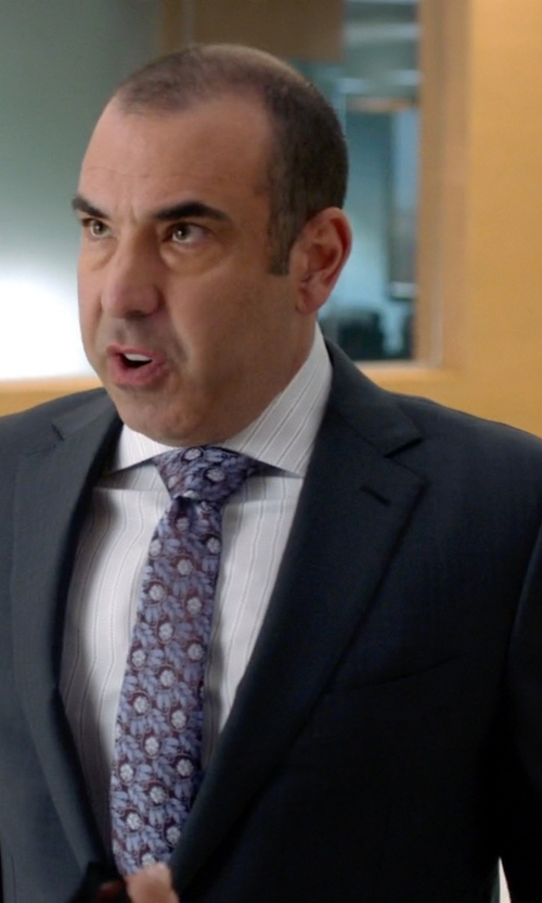 Rick Hoffman with Ermenegildo Zegna Two Piece Suit in Suits
